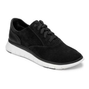 Vionic Taylor Sneaker Black Suede Casual Shoe
